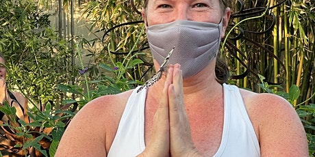 Yoga at Butterfly Wonderland, in the Rain Forest. tickets