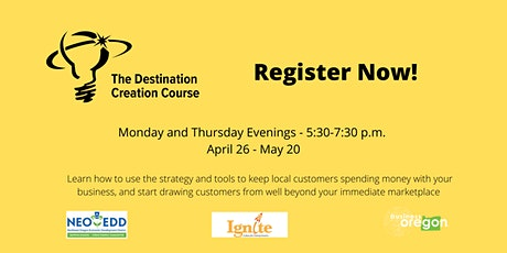 Destination Creation Workshop Series tickets