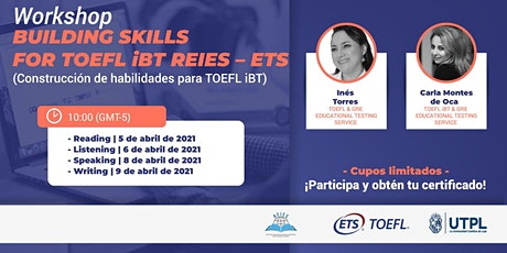 Segunda Ronda wokshops TOEFL entradas