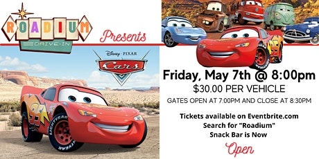 CARS  - Presented by The Roadium Drive-In tickets