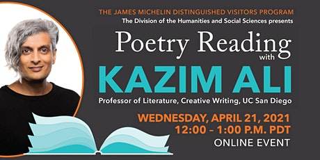 Poetry Reading with Kazim Ali tickets