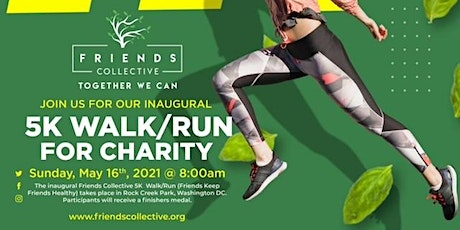 Friends Collective 5K Walk/Run tickets