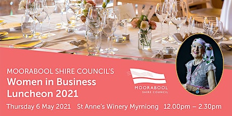 Moorabool Shire Women in Business Luncheon 2021 tickets