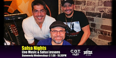 Live Latin Music & Free Salsa Lessons | Salsa dancing in Atlanta | COT Band tickets