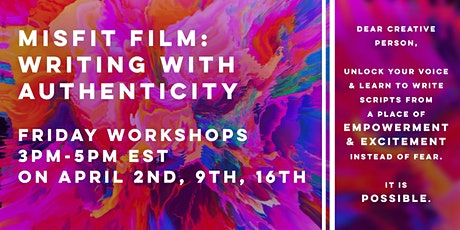 Misfit Film: Writing with Authenticity tickets