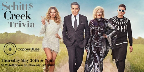 Schitt$ Creek Trivia at Copper Blues Rock Pub & Kitchen tickets