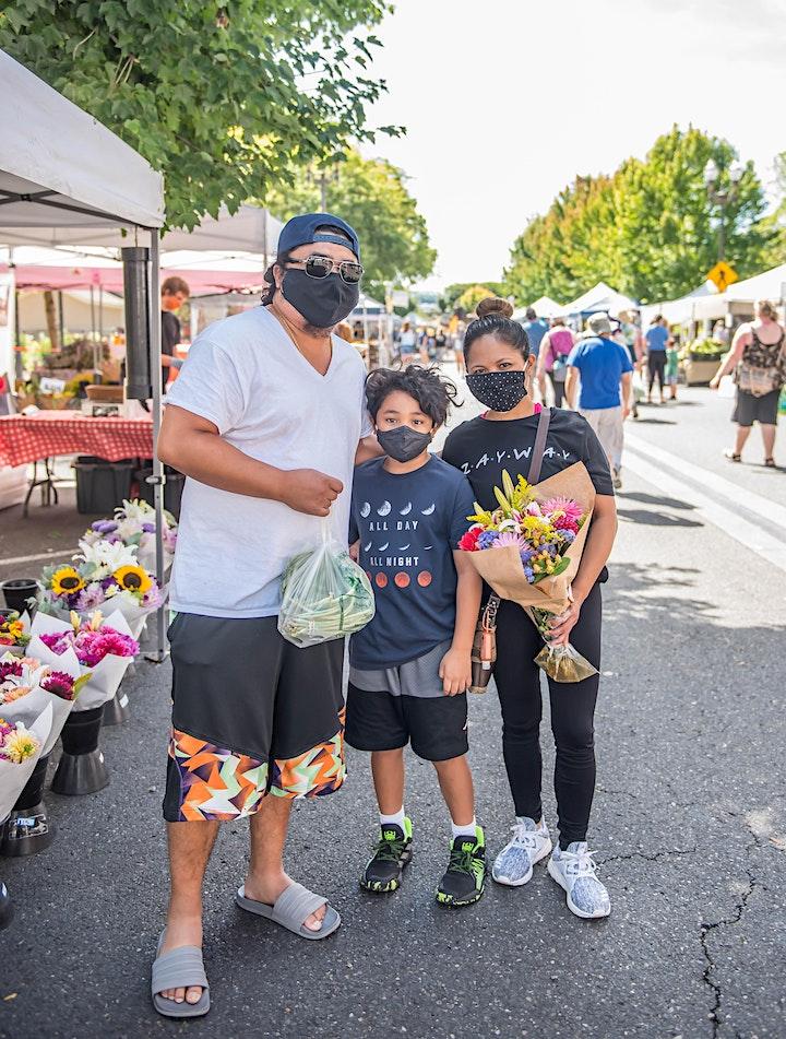 Imagen de Recorrido por el farmers market del centro de Vancouver