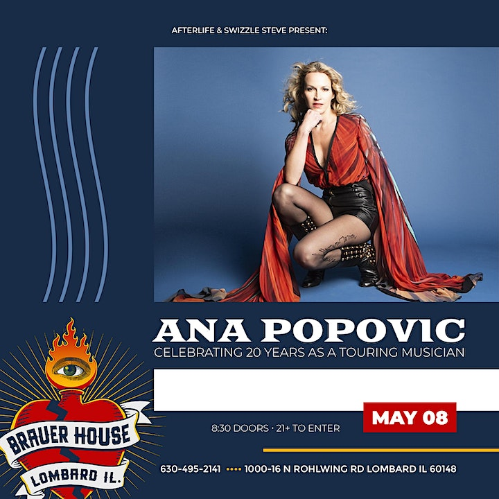 An Intimate Evening with Ana Popovic image