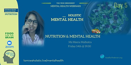 Nutrition and Mental Health tickets