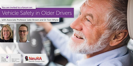 Forum: Vehicle Safety in Older Drivers tickets