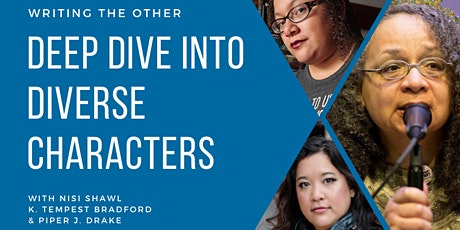 Deep Dive Intensive: Creating Diverse Characters | Writing the Other tickets