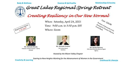 Virtual Spring Retreat:  Creating Resiliency In Our New Normal tickets