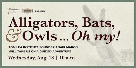Alligators, Bats, & Owls... Oh My! boletos