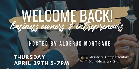Welcome Back Vegas Mixer: Hosted By Alderus Mortgage tickets
