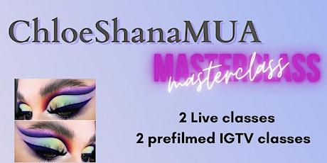 Chloe Shana Masterclass tickets