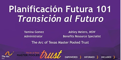 Sesión  2: Planificación Futura 101: Transición al Futuro entradas