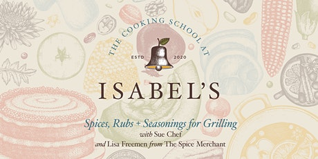 Cooking Classes ​with Sue Chef: Spices, Rubs + Seasonings for Grilling tickets