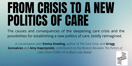 From Crisis to a New Politics of Care tickets
