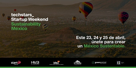 Techstars Startup Weekend Sustainability México entradas