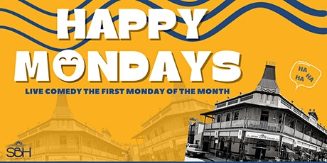 Happy Mondays - Live Comedy @ The South Beach Hotel tickets