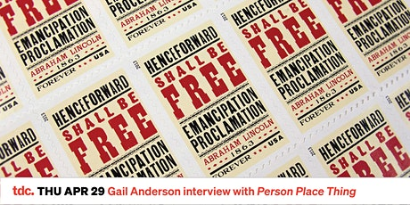 Person Place Thing with Gail Anderson tickets