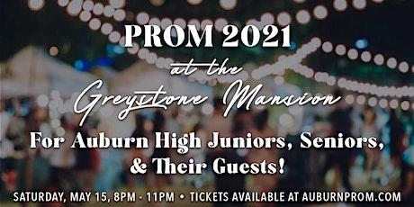 Auburn High Prom 2021 at Greystone Mansion tickets