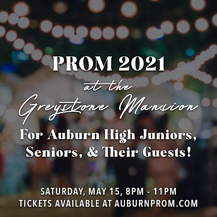 Auburn High Prom 2021 at Greystone Mansion image