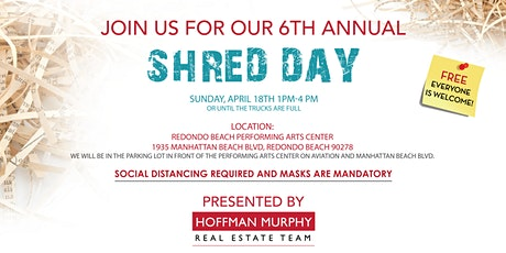 Hoffman Murphy Real Estate's 6th Annual Shred Day! tickets