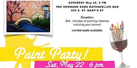Paint 'n Sip Fundraiser tickets