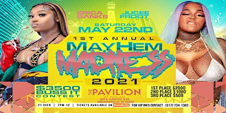 Mayhem Madness Concert Featuring Erica Banks and Jucee Froot tickets