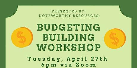 Budget Building Workshop tickets