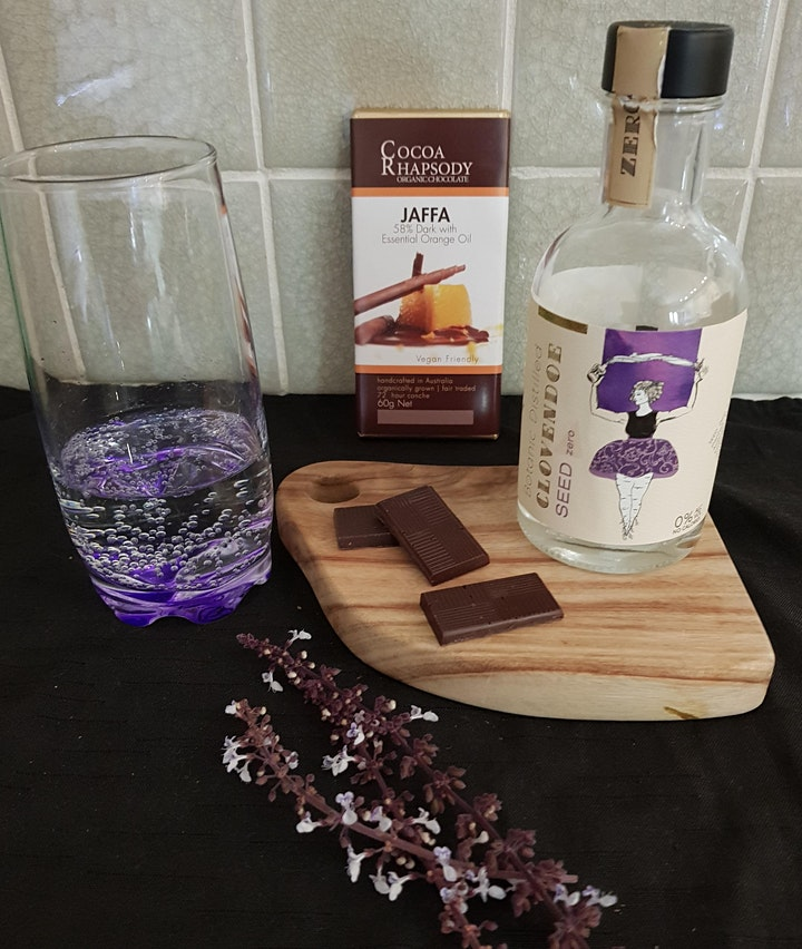Chocolate Tasting Session: featuring Chocolates paired with Bubbles & Gins image