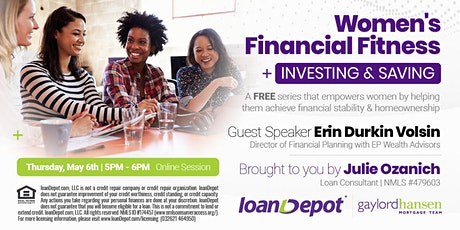 Women's Financial Fitness - Investing & Saving [ONLINE] tickets