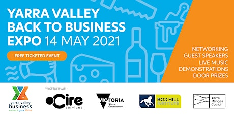 Yarra Valley Back to Business Expo - Exhibitor Registration tickets