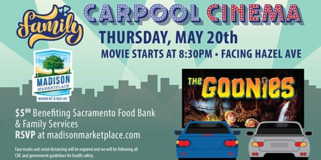 Drive-In Movie at Madison Marketplace- The Goonies! tickets