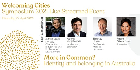 2021 Welcoming Cities Symposium - Live Streaming tickets