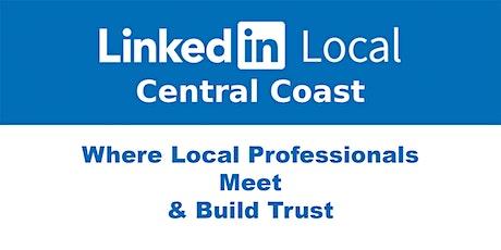LinkedInLocal Central Coast - Monday 3rd May 2021 tickets