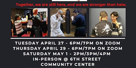 Free Self-Defense Seminars in Support of the Asian Community tickets