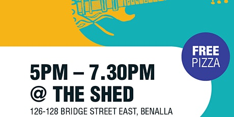 Live Music at the Shed tickets