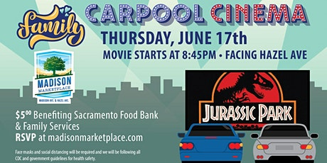 Drive-In Movie at Madison Marketplace- Jurassic Park! tickets