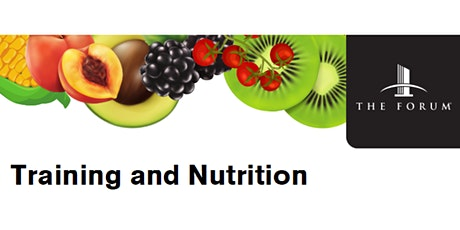 Training and Nutrition:  Not seeing the results you want? tickets