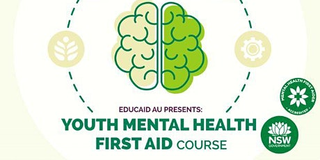 Youth Mental Health First Aid Course (14 hours) | Teacher  PD tickets