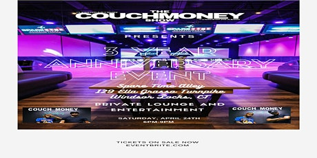 3 Year Couch Money Anniversary Live Event! tickets