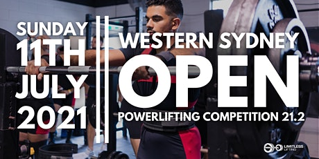 Western Sydney Open Powerlifting Competition 21.2 tickets