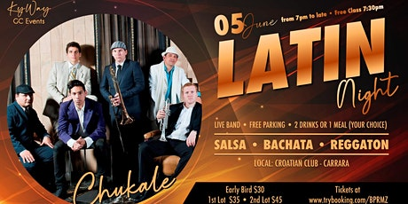 Salsa Night - Live Band - Chukale tickets