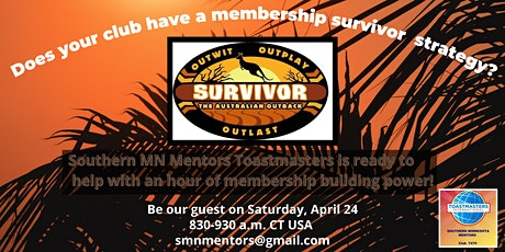 Does Your Club Have a Survivor Strategy for Membership? tickets