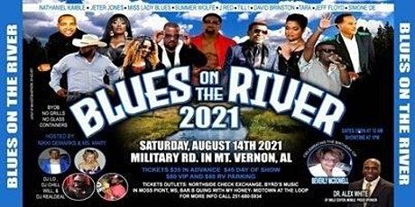 BLUES ON THE RIVER IN MOUNT VERNON ALABAMA tickets