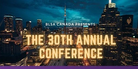 2021 BLSA Canada 30th National Conference (Virtual) billets