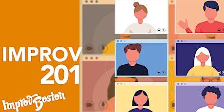Improv 201 Online with Sam Hoar - Sundays 2:00PM - 3:30PM tickets