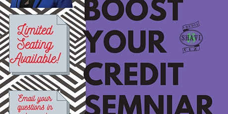 Boost Your Credit Score tickets